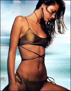 看美女人体艺术_组图:在法兰西看美女 丰满裸露才是美