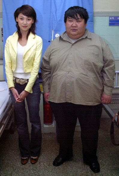 男胖子减肥对比照片_核心报道:胖!实在是胖 胖男昨来西安减肥_新闻中心_新浪网