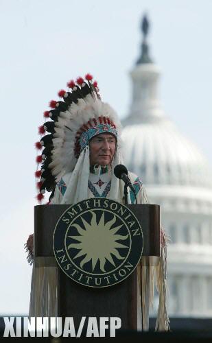 印第安人恨美国人_组图:美国印第安人博物馆开馆_新闻中心_新浪网