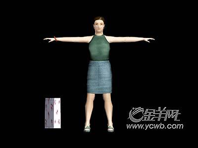 人体艺术模型_人体模型要增肥!臀部越大越好卖(组图)