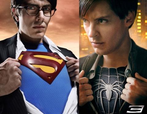 超人vs蜘蛛侠_图文:蜘蛛侠VS超人--海报大比拼_影音娱乐_新浪网