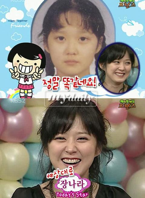 张娜拉小时候照片_张娜拉童年照首次曝光明眸皓齿甜美依旧附图