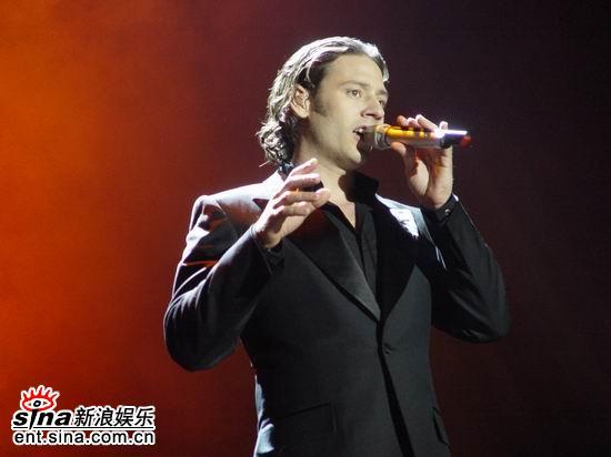 资料图片:美声绅士上海演唱会完美唱响(30)