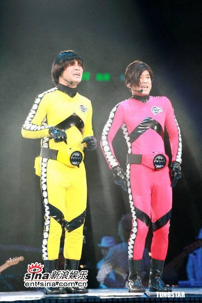 软硬天师_图文:软硬天师演唱会终场--搞笑\