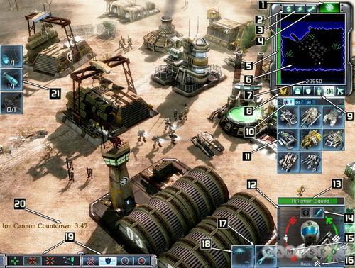 《命令与征服3》创新的游戏界面(图)