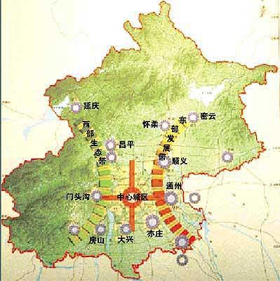 北京朝阳新城规划图_北京新城市总体规划11个新城疏解8区压力(组图)_新浪房产_新浪网