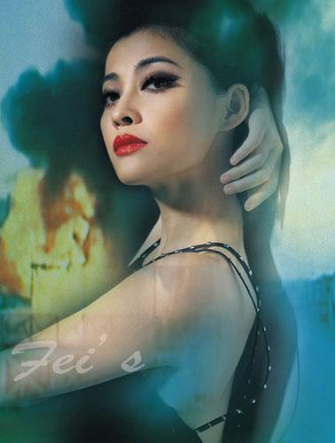 裸模梅婷艺术裸照_组图:梅婷香肩玉背 高雅冷艳诠释复古气息(1)
