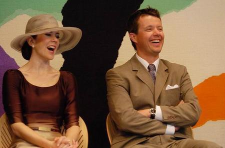 丹麦王储_在澳大利亚访问的丹麦王储夫妇出席活动
