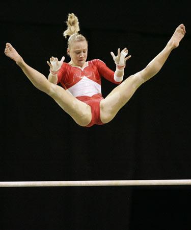 图文-体操世锦赛女子预赛